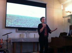FOKUS: Malin Olofsson, vinnare av Stora journalistpriset, berättade om sin granskning av livsmedelsindustrin