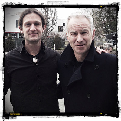 Fischer VS McEnroe – ett blixtrande möte