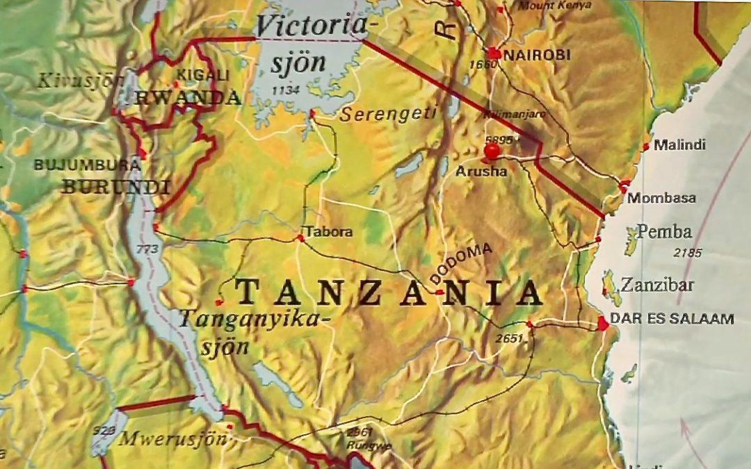Bibel + till Tanzania