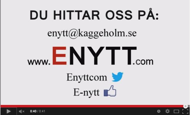 Läs Enytt på www.enytt.com – lokaljournalistik på Ekerö