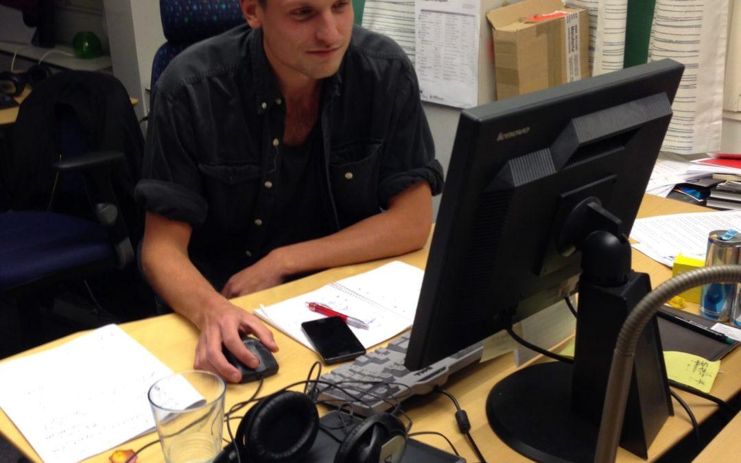 Journalistikpraktik – följ Alexander på PP3 på Sveriges Radio