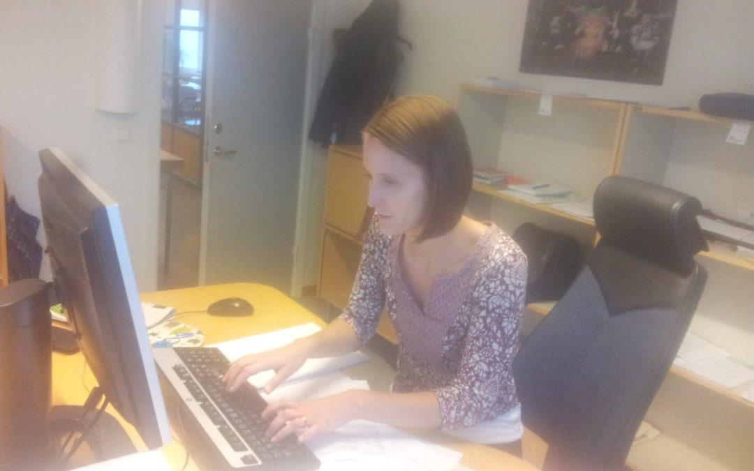 Möten i rollen som journalist –  Linnéa bloggar från sin praktik