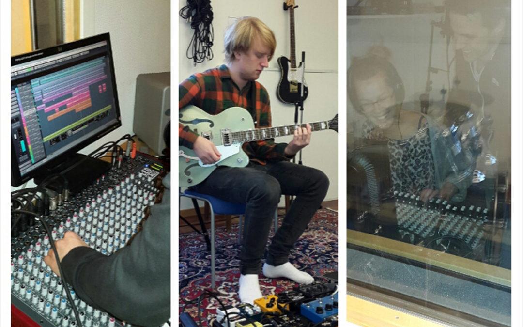 Musiklinjens studio uppgraderad!