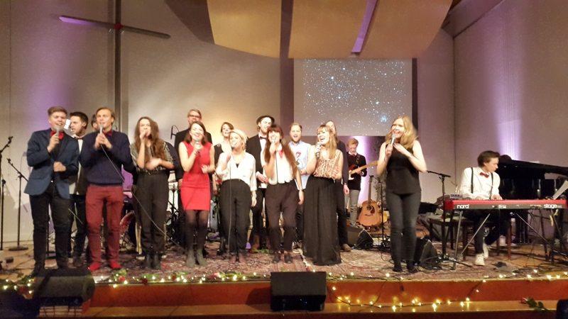 Årets Julkonsert med blev en succé
