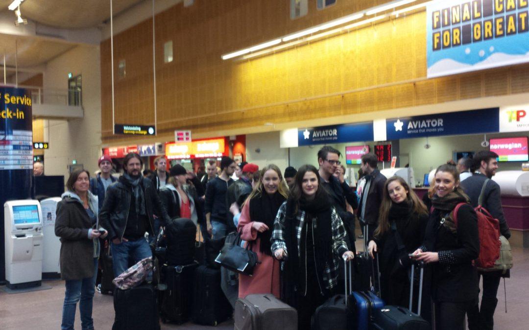 Mot Lissabon – nu reser medietvåorna på reportageresa