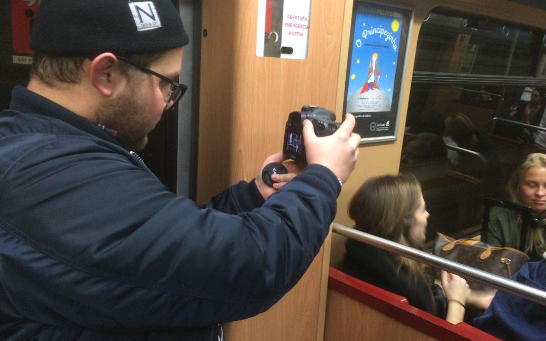Följ TV2s vloggande från Lissabon