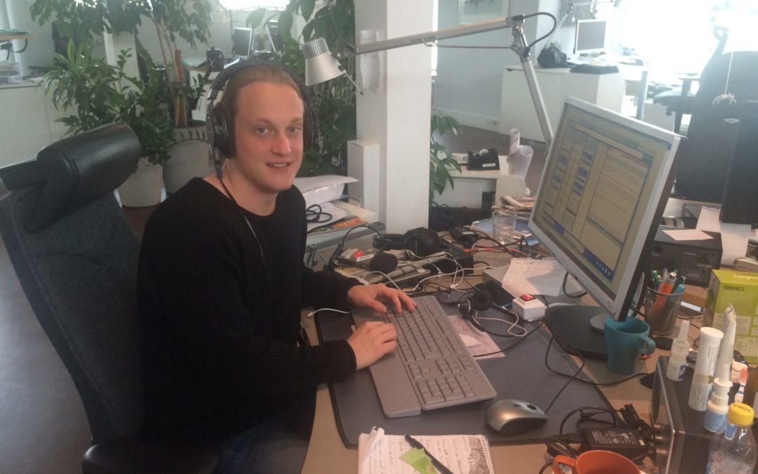 Lyssna på Hugos projektarbete som sändes i SR P4 Gotland