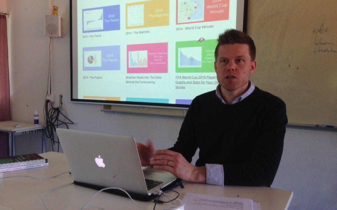 """""""Databasjournalistik är det nya"""" – tidigare journalistelev om efterfrågad yrkesroll"""