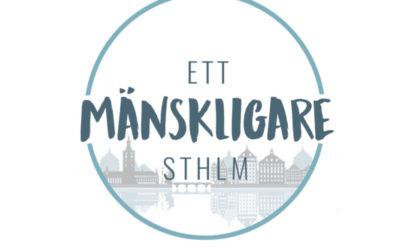 """Välgörenhetsgalan """"Ett mänskligare Stockholm"""" kommer att sändas här!"""