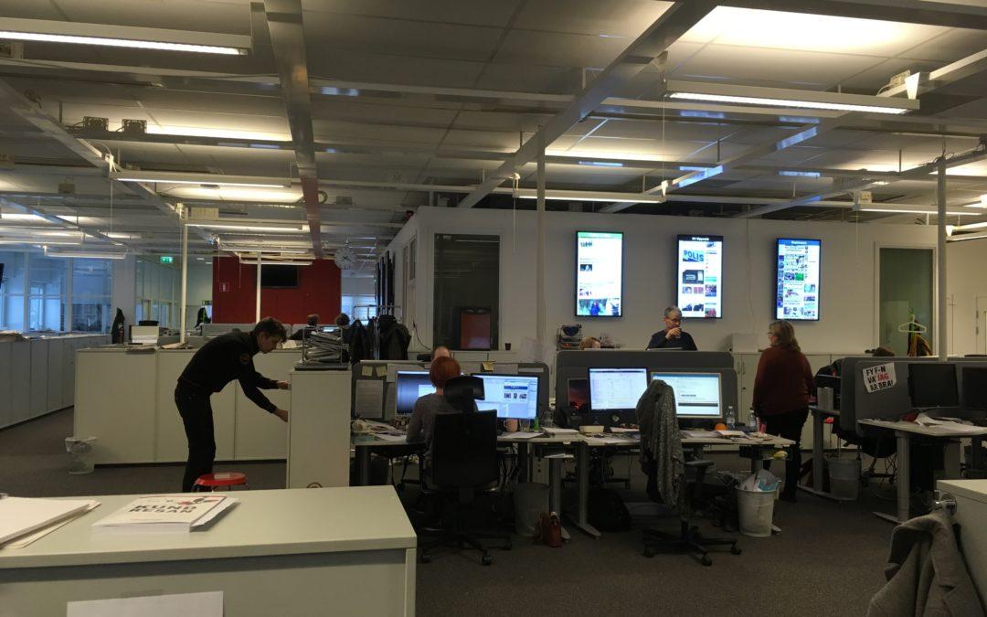 Just nu, kaffe och världsklass – följ Lovisa på Uppsala Nya Tidning