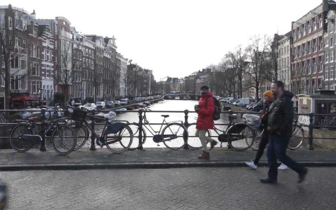 Vlogg med Joseph, Klara & Simon – från reportageresan i Amsterdam