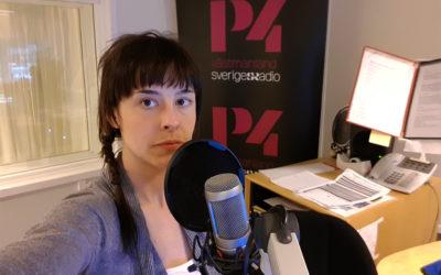 Följ Amanda på journalistpraktik på P4 Västmanland