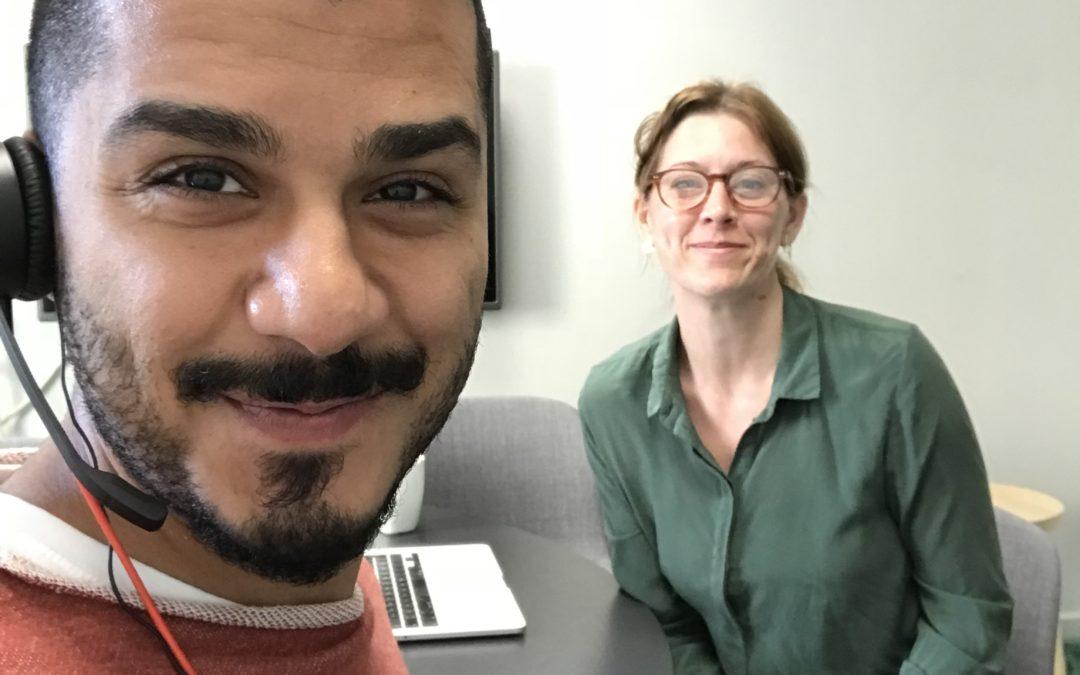 Journalistbloggen – följ Ibrahim på hans praktik på tidningen Arbetet