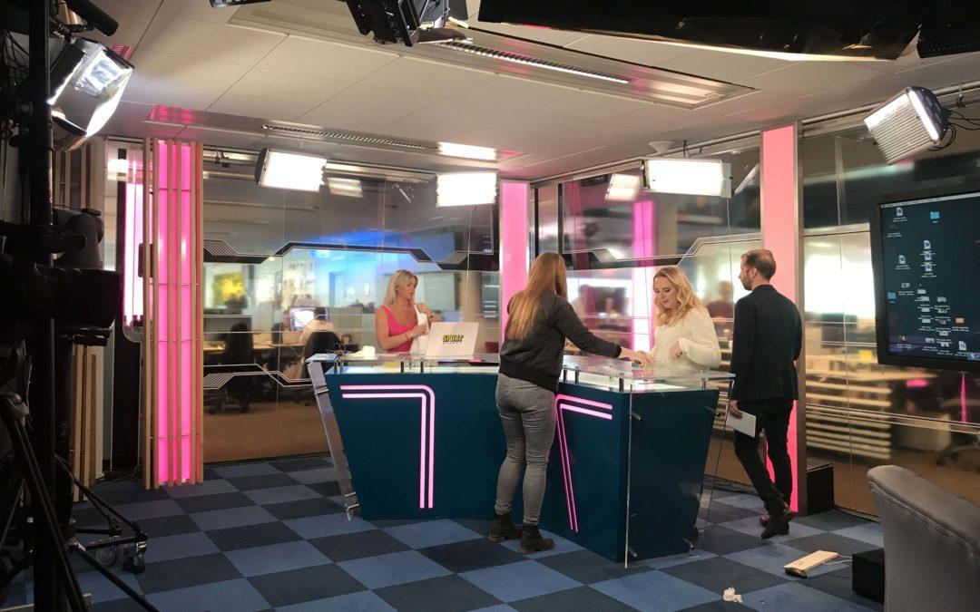Många bollar i luften – Denise om praktiken på Aftonbladet