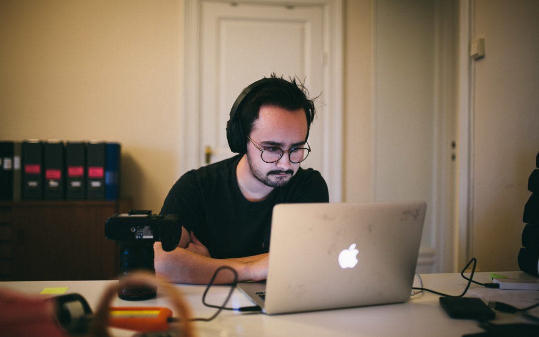 Rundpingis och skärpedjup – följ Gustaf på långpraktiken