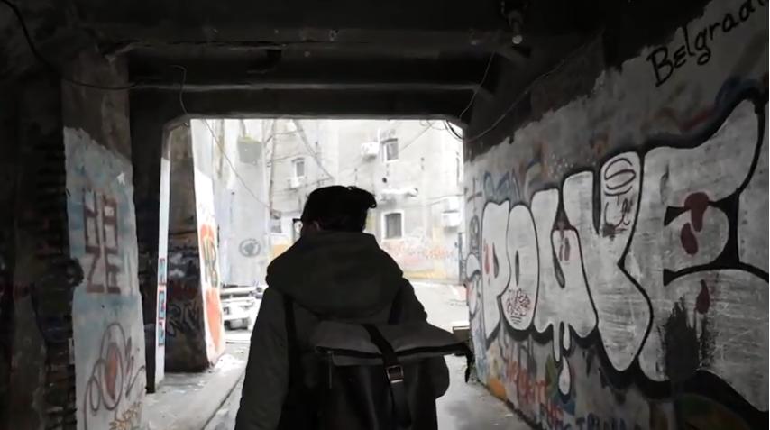 De sätter färg på Belgrad – följ Johannes på reportageresans sista dag