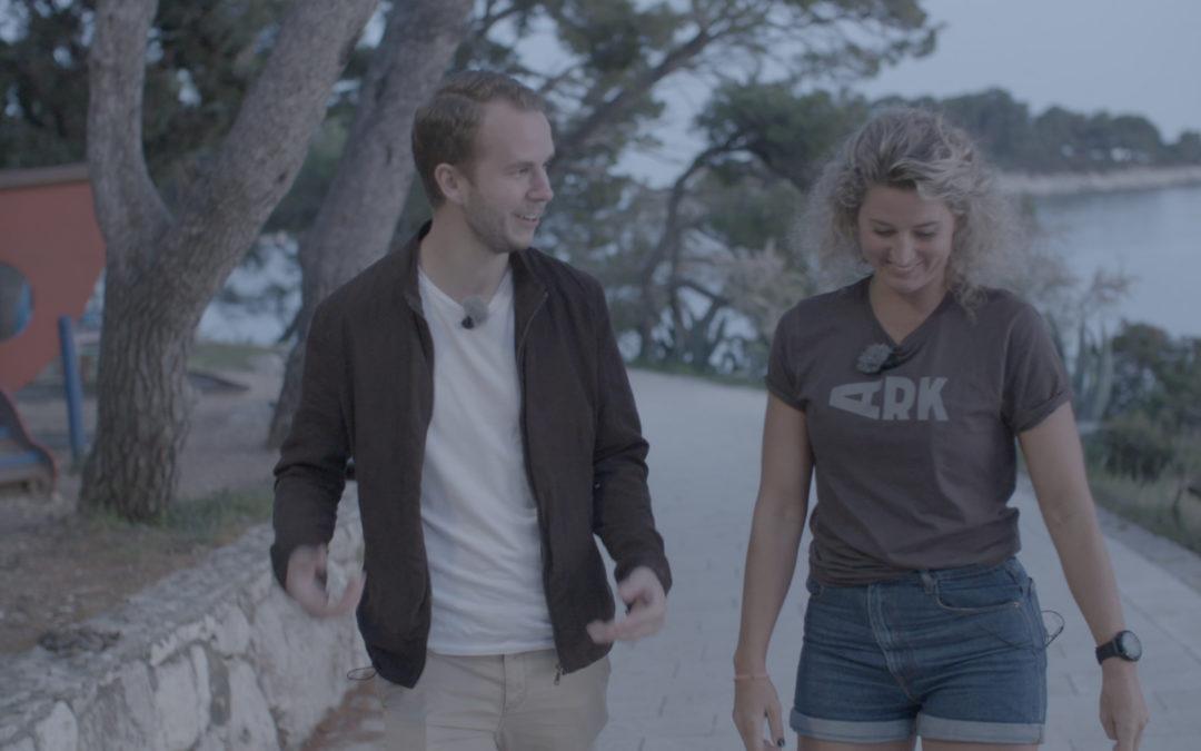 På swimrun i Kroatien – följ Anton på TV-praktiken