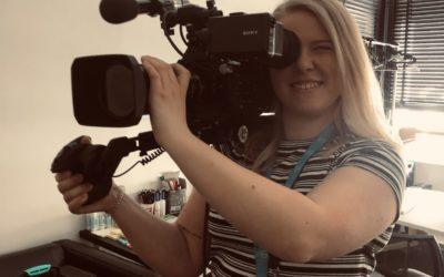 Äntligen filmtajm – följ Amanda på praktiken