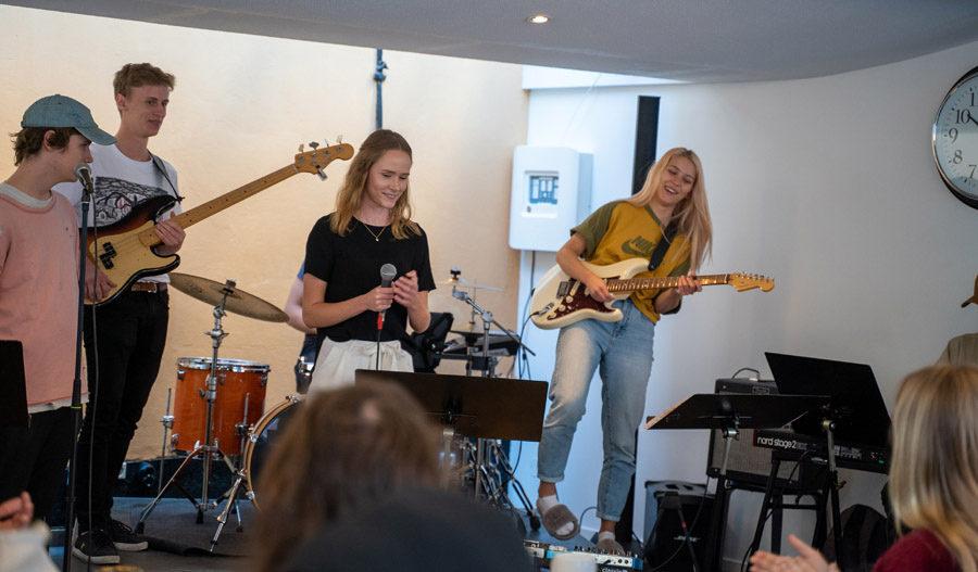 fikakonsert musik kaggeholms folkhögskola
