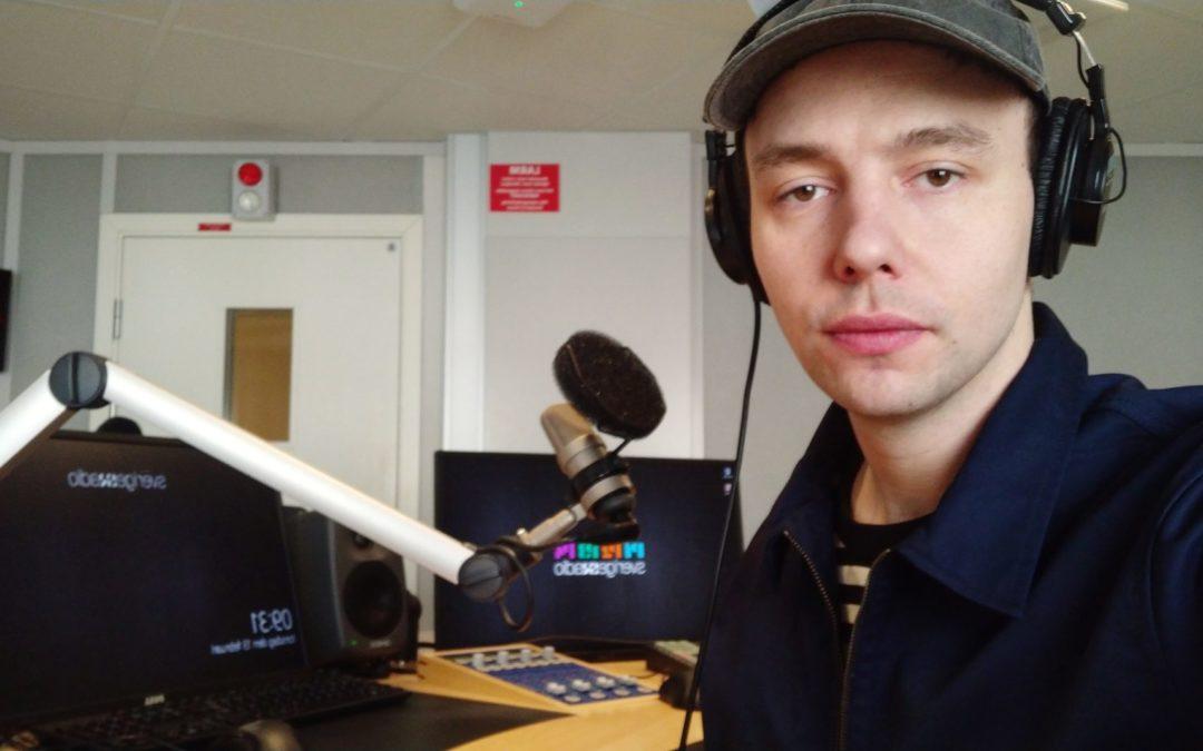 Praktikbloggen – direktsändningar och OB – Erik är reporter P3 Nyheter