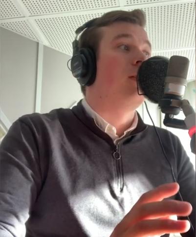 Praktikbloggen – August kör egna sändningar på Radiosporten