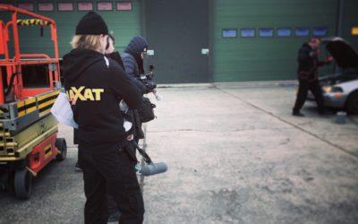 Praktikbloggen – Alexander är allt-i-allo på SVT:s Maxat
