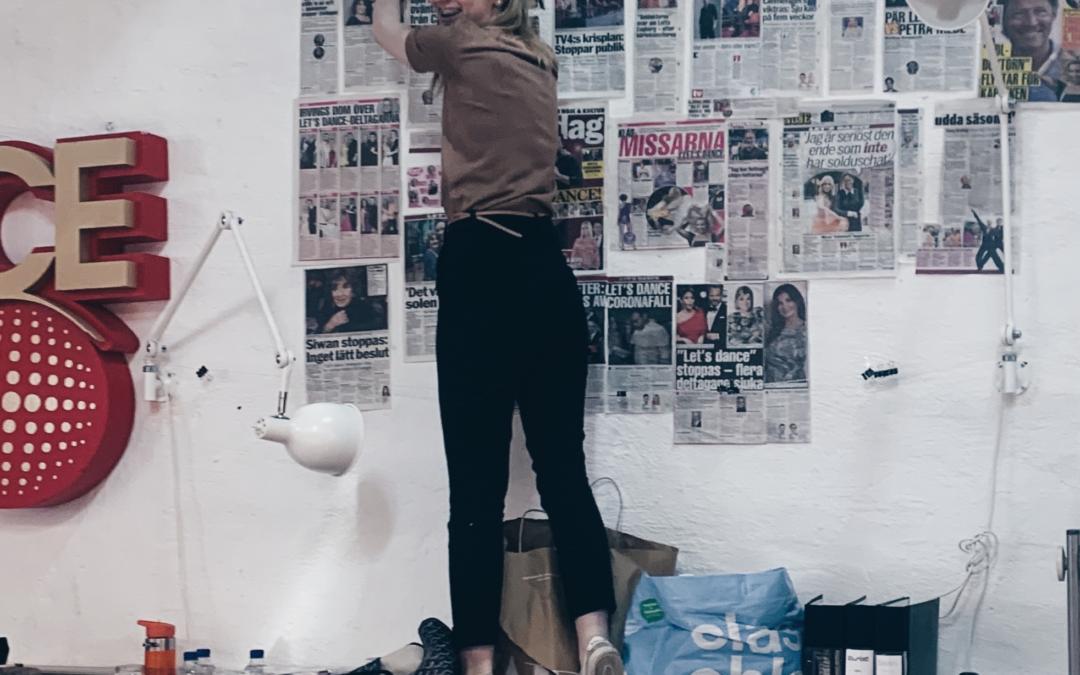 """Praktikbloggen – """"det är höjdpunkten på veckan"""" – följ Mathilda på Let´s Dance"""