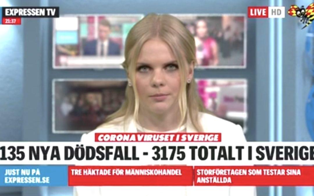 Praktikbloggen – påa, desk och live – Lina är på Expressen TV