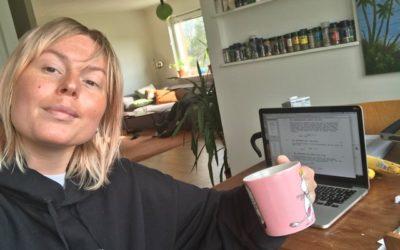 Praktikbloggen – följ Mimmi på Stella Nova Film