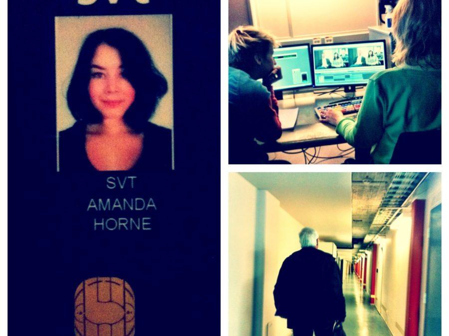 Opera, hiphop och Oscars – Amandas bloggar från praktiken på Kulturnyheterna i SVT
