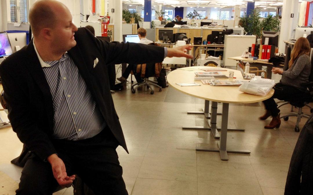 Besök på Expressen:Thomas Mattsson om pressetik, online-TV och vikten av att hänga med