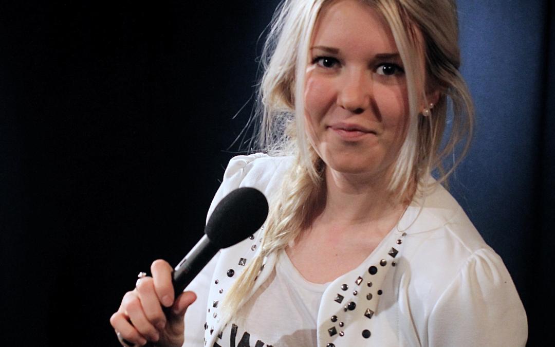 Johanna skriver om programledarkurs