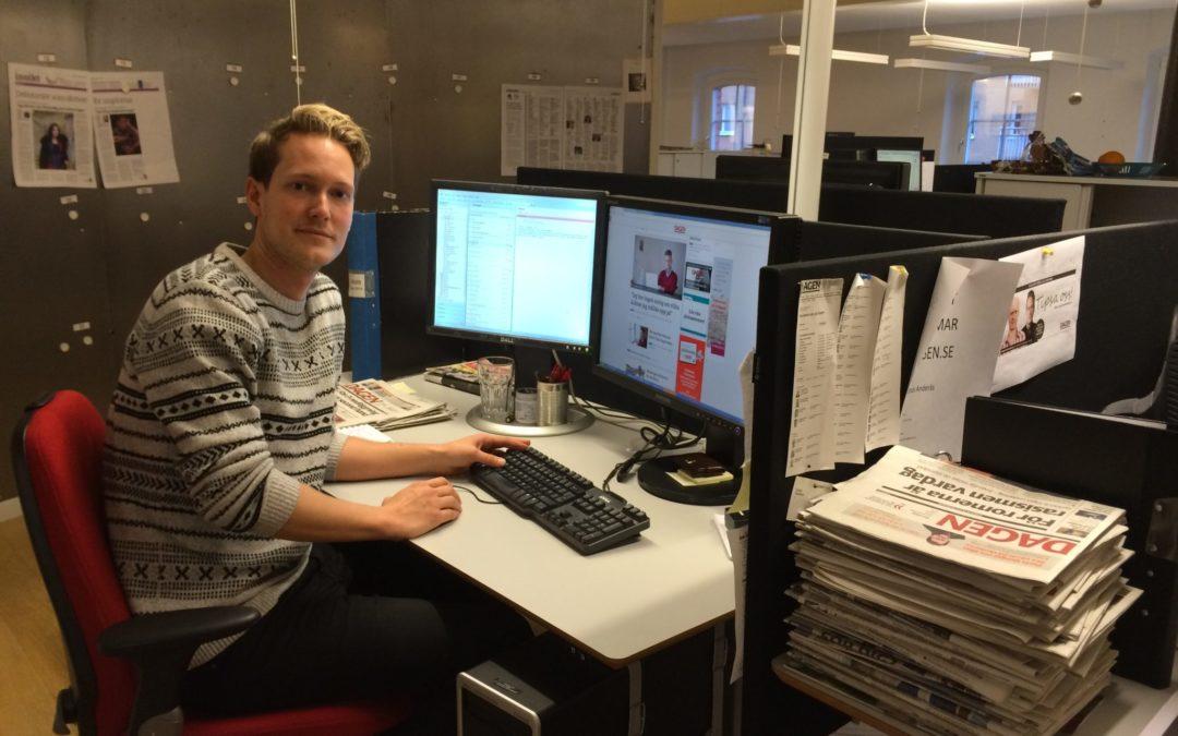 Tidningen Dagen tipsar medieeleverna om hur man lyckas med en webbtidning