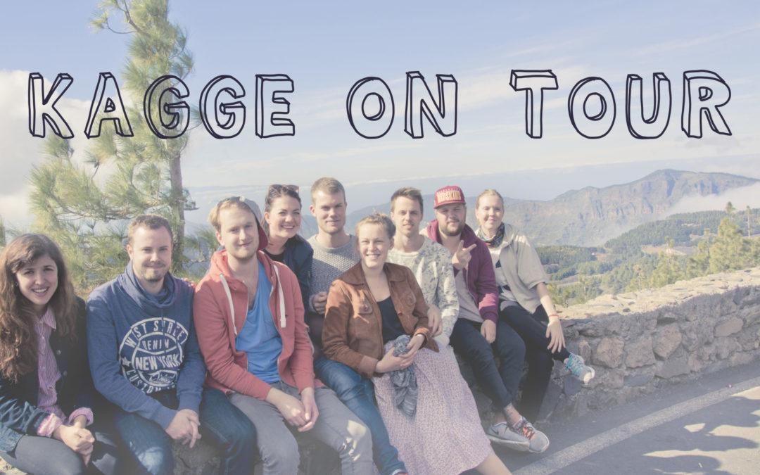 Kagge on tour