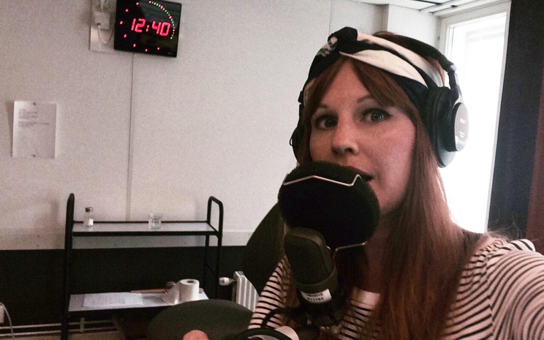 Linas projektarbete sänds i Sveriges Radio