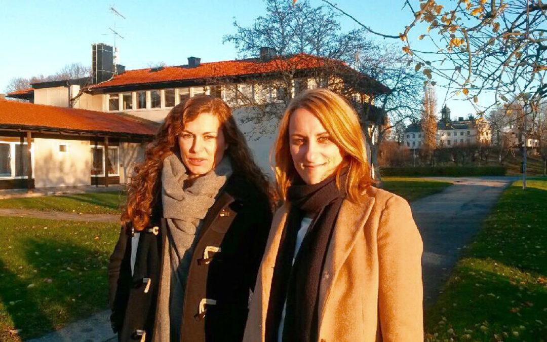 Expressen ger jobbtips till mediestudenter på Kaggeholm