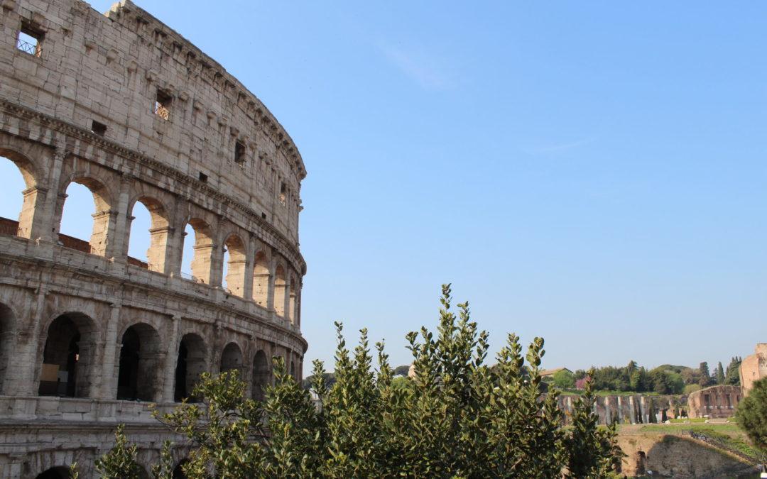 Allmänna linjen på studieresa till Rom