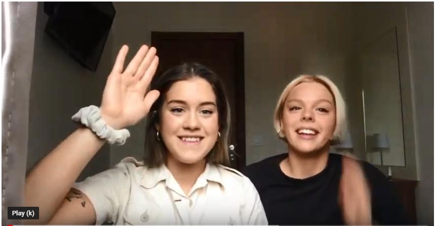 Ficktjuvar, inställda intervjuer och ishalka – följ Emma och Ida på reportageresa i Belgrad
