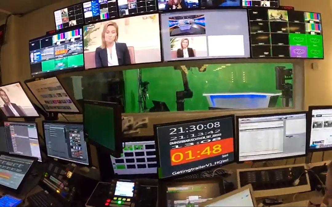 Praktikbloggen – programledare behind the scenes – följ Jimmy på Expressen TV