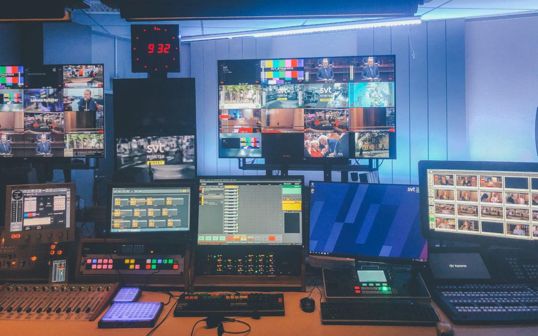 Praktikbloggen – Simeon om rollen som sändningsproducent på SVT