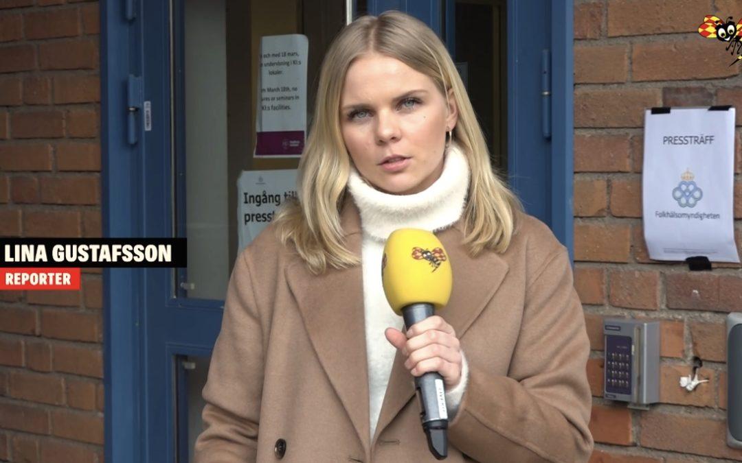 Praktikbloggen – Linas praktiktips från Expressen TV