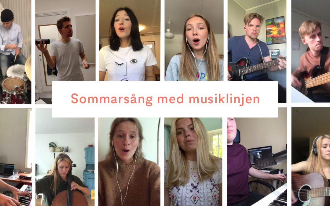 Glad sommar från Kaggeholms musiklinje