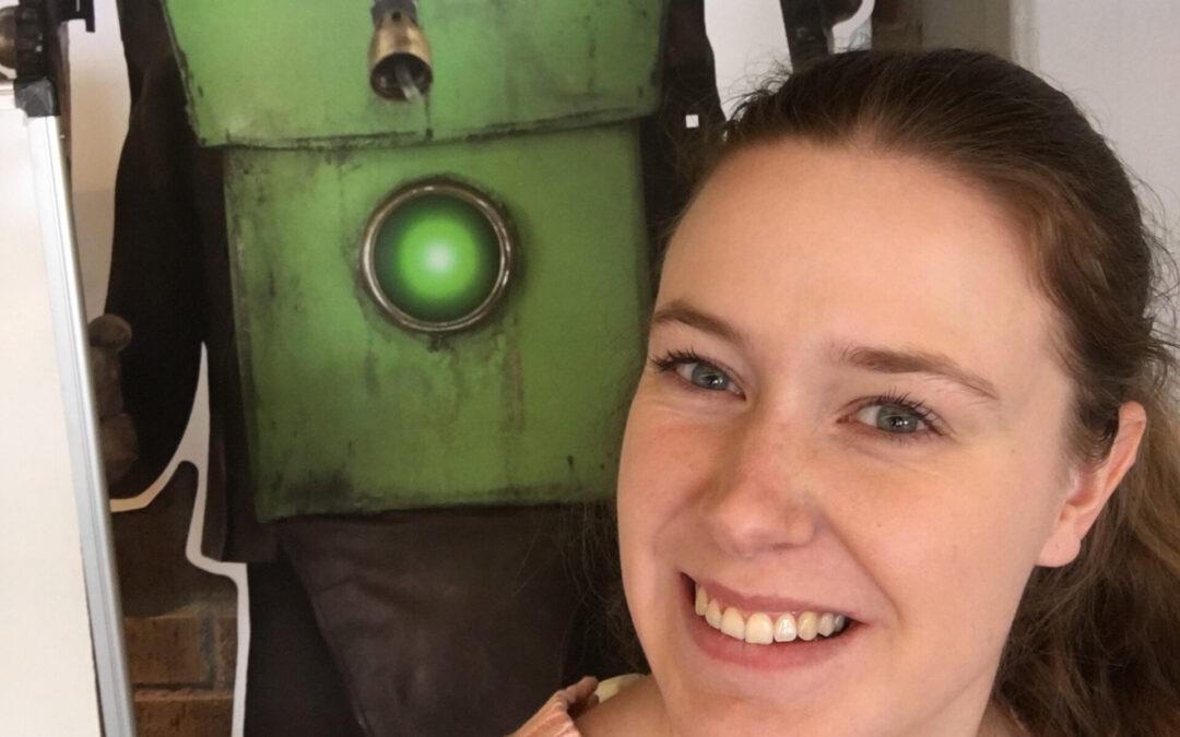 Johanna gör praktik som teknikassistent på SVT barn