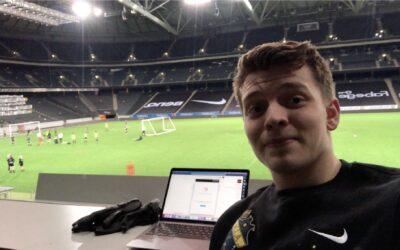 Filip lever drömmen på Friends Arena