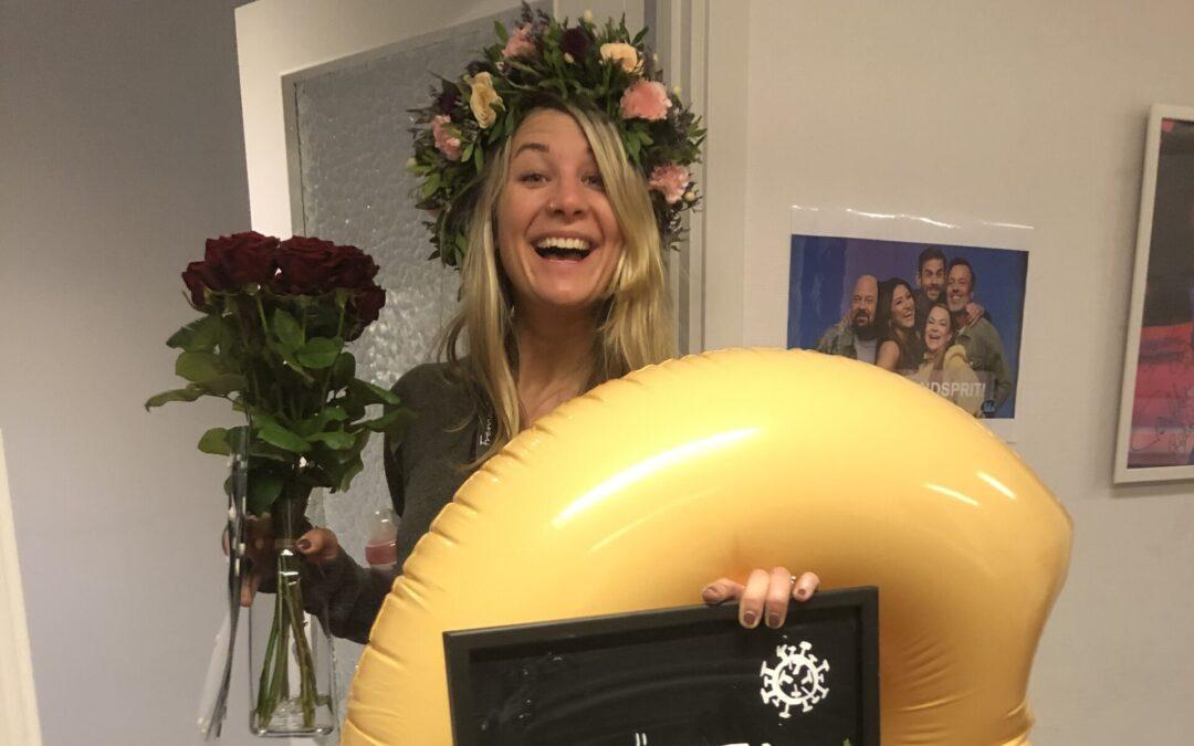 Jessica – från Kaggeholm till innehållskoordinator på Masked Singer